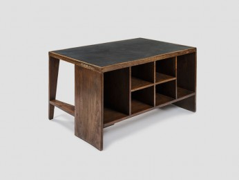 PIERRE JEANNERET PJ-BU-02-A Bureau – bibliothèque dit « Office table », c.1957-58
