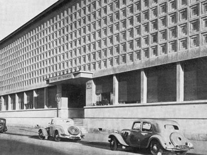 Musée d'histoire naturelle de Nancy, 1932-1933. Emile et Jacques André architectes.