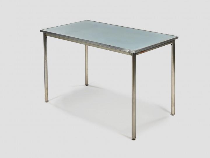 LE CORBUSIER, Pierre JEANNERET & Charlotte PERRIAND Table B307 éditée par la société Thonet, vers 1930. ADAGP