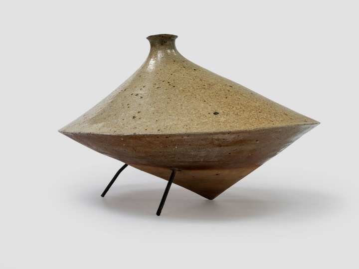 Yves MOHY, 1929 – 2004 Vase sculpture, années 60