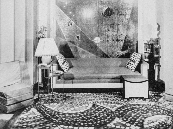 Leon Jallot gueridon 1927