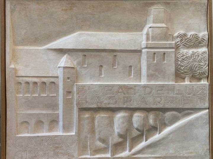 Jan et Joel Martel, bas relief pour le Casino de Saint Jean de Luz, Robert Mallet Stevens architecte 1927