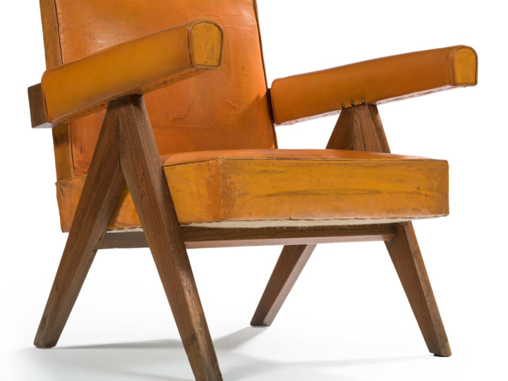Pierre Jeanneret rare vintage armchair Chandigarh